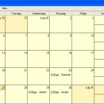 Tax Lien Software Calendar