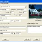 Tax Lien Software Input Tab
